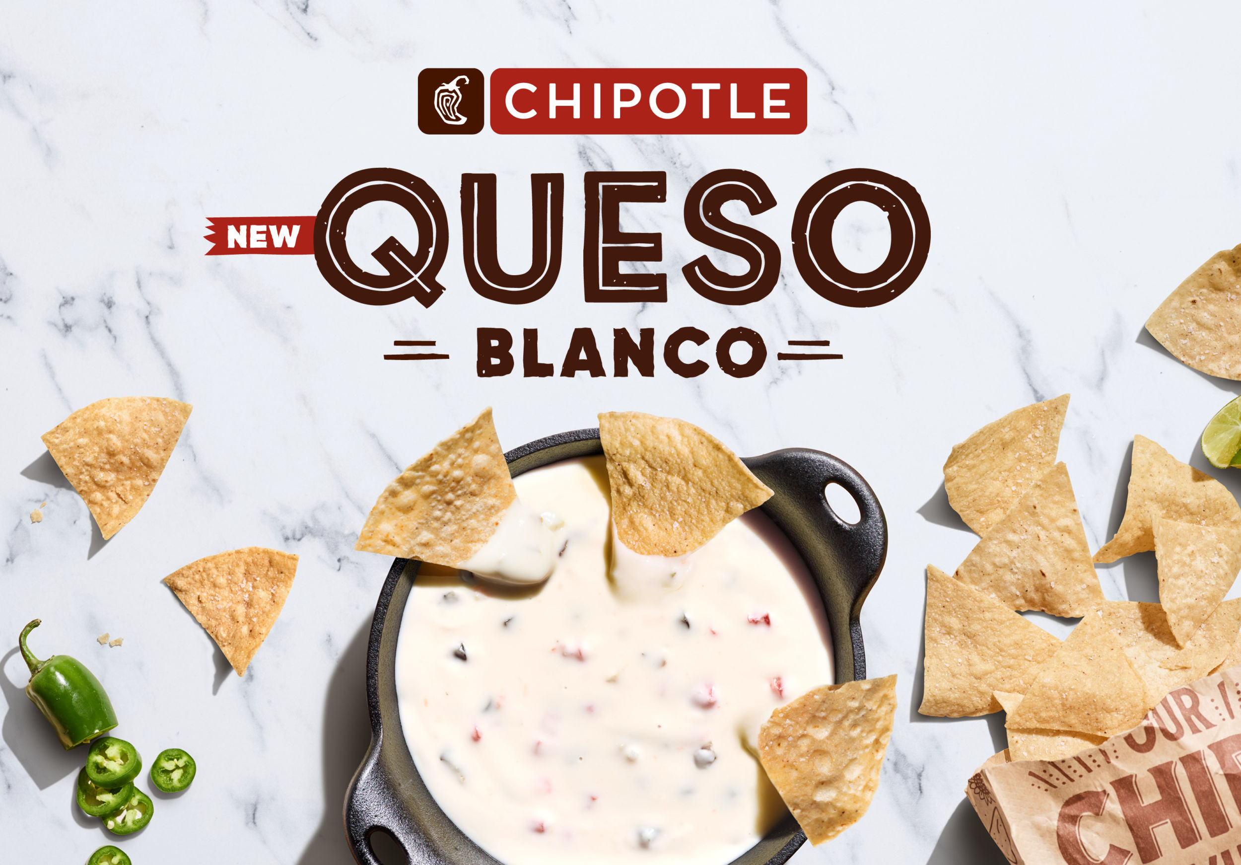 Chipotle Queso Blanco now is rolling out nationwide