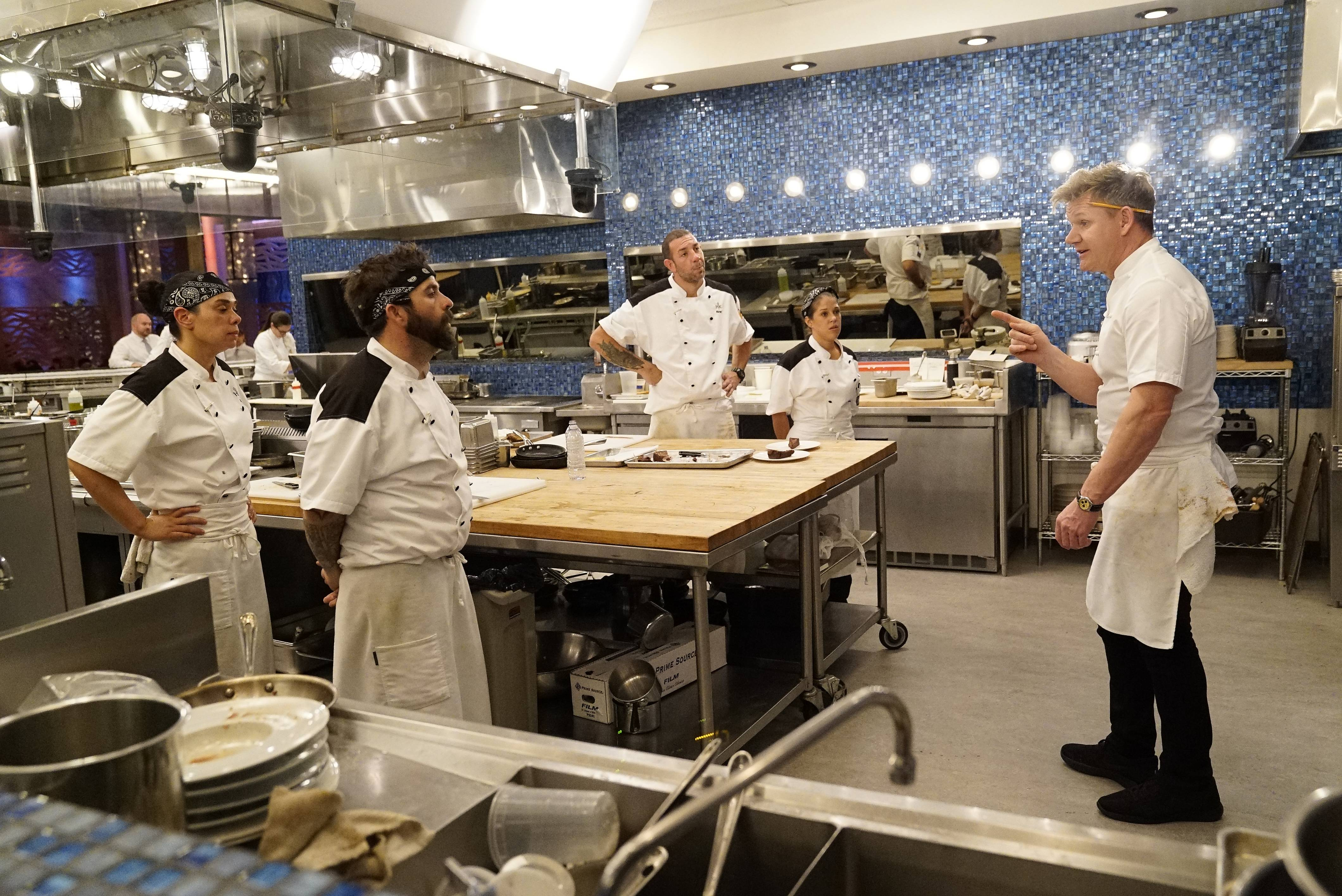 Hell S Kitchen Season 18 Final Four Episode What S Your Motto
