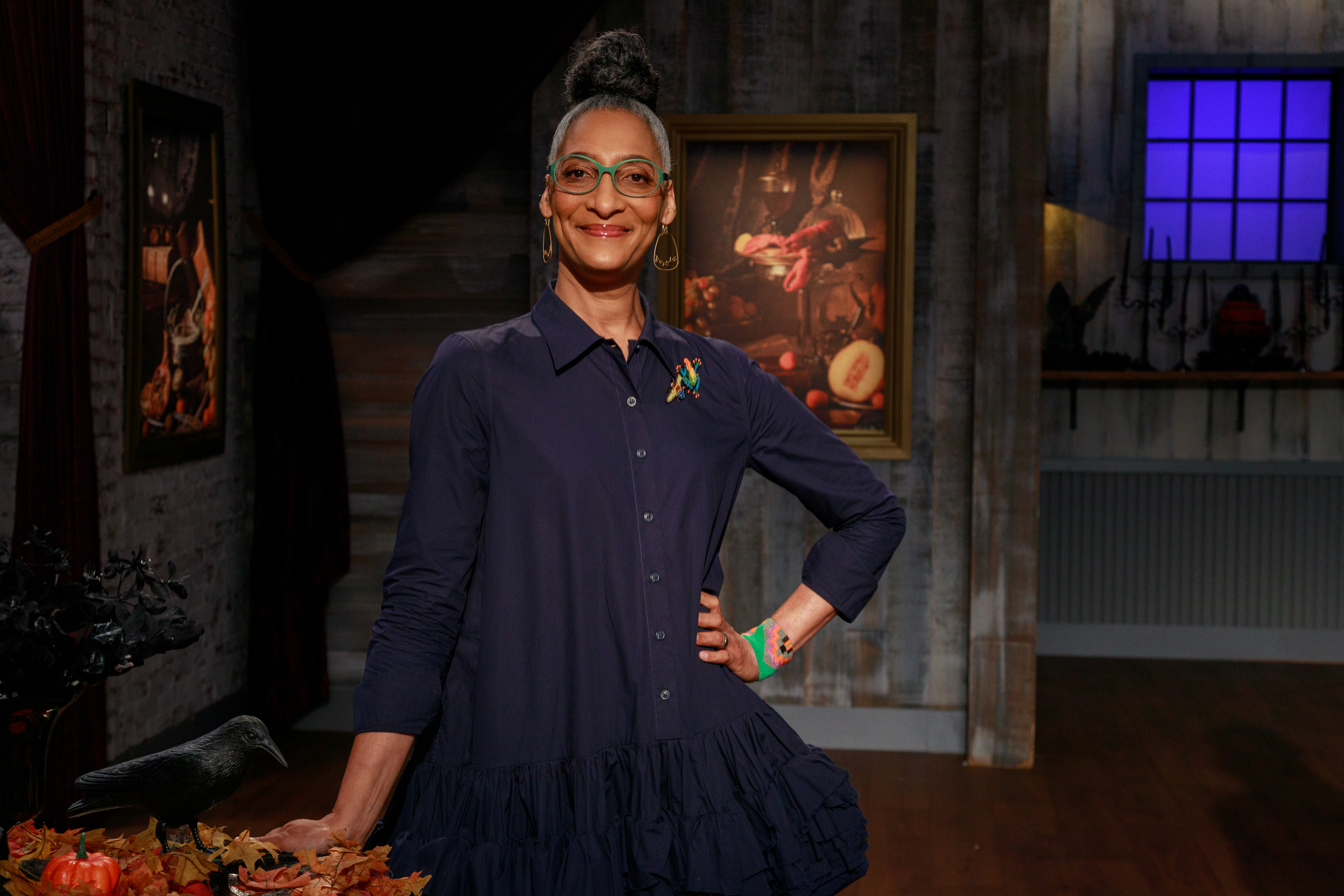 Who Is The Host Of The 2020 Halloween Baking Championship Carla Hall dishes all the spooky secrets to Halloween Baking