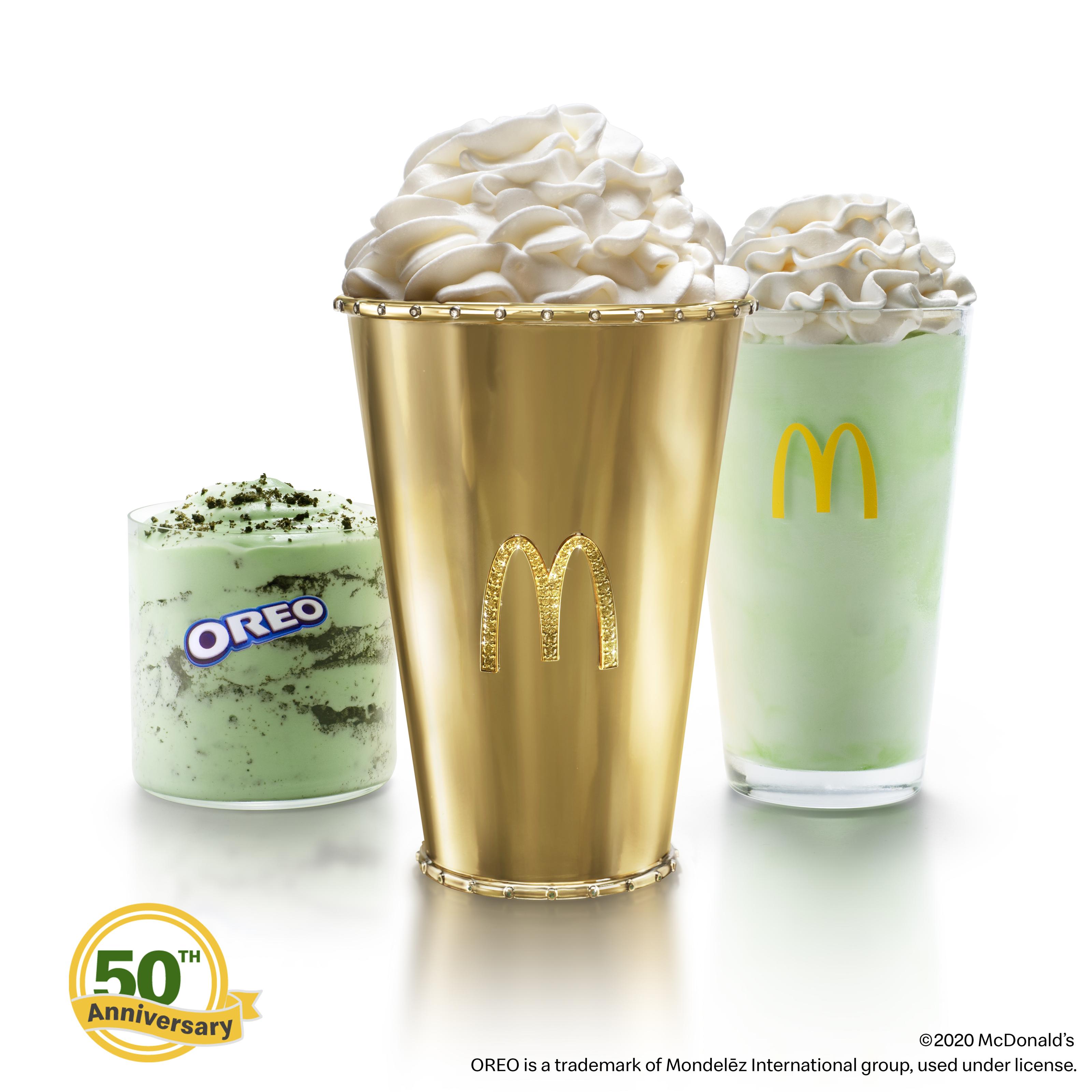 McDonald's Golden Shamrock Shake is the ultimate Shamrock Shake
