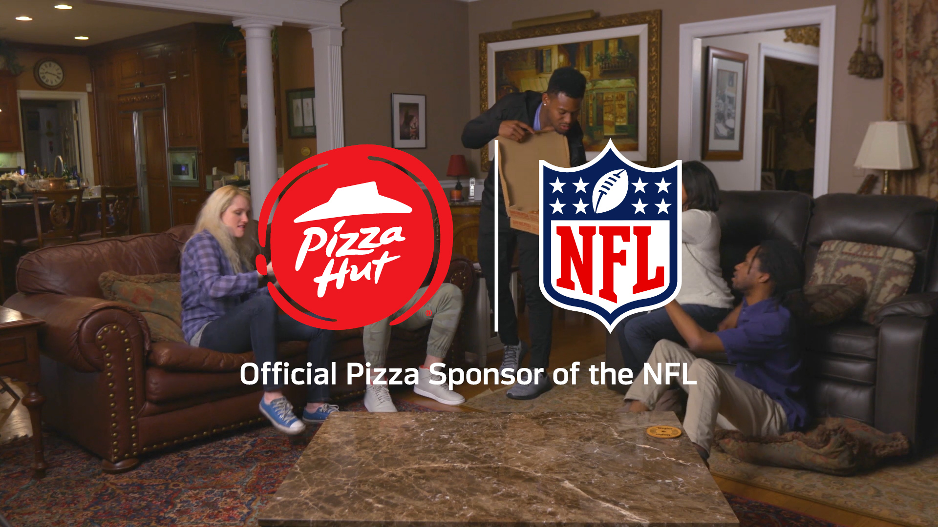 Pizza Hut pulls out all stops for National Football League draft