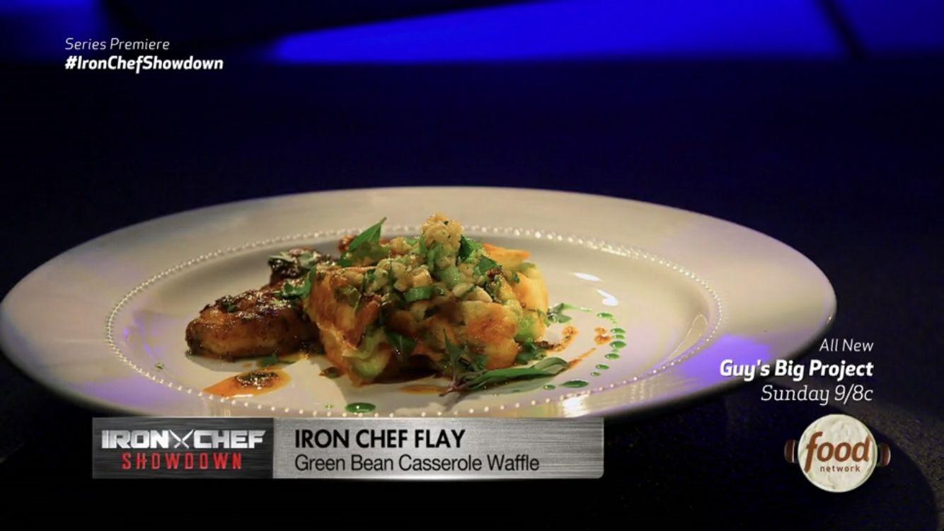 Iron Chef Showdown premiere: Thanksgiving leftovers transformed