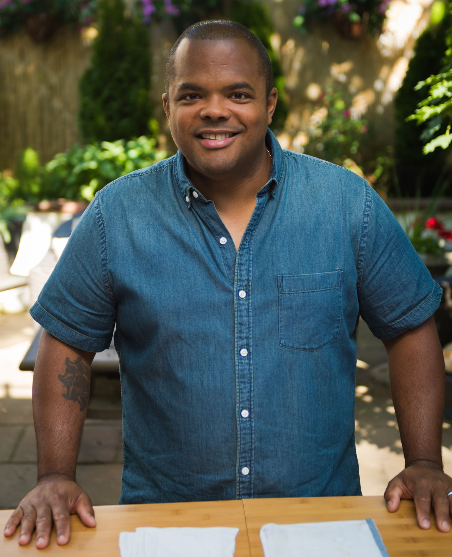 Roger Mooking of Man Fire Food shares grilling advice