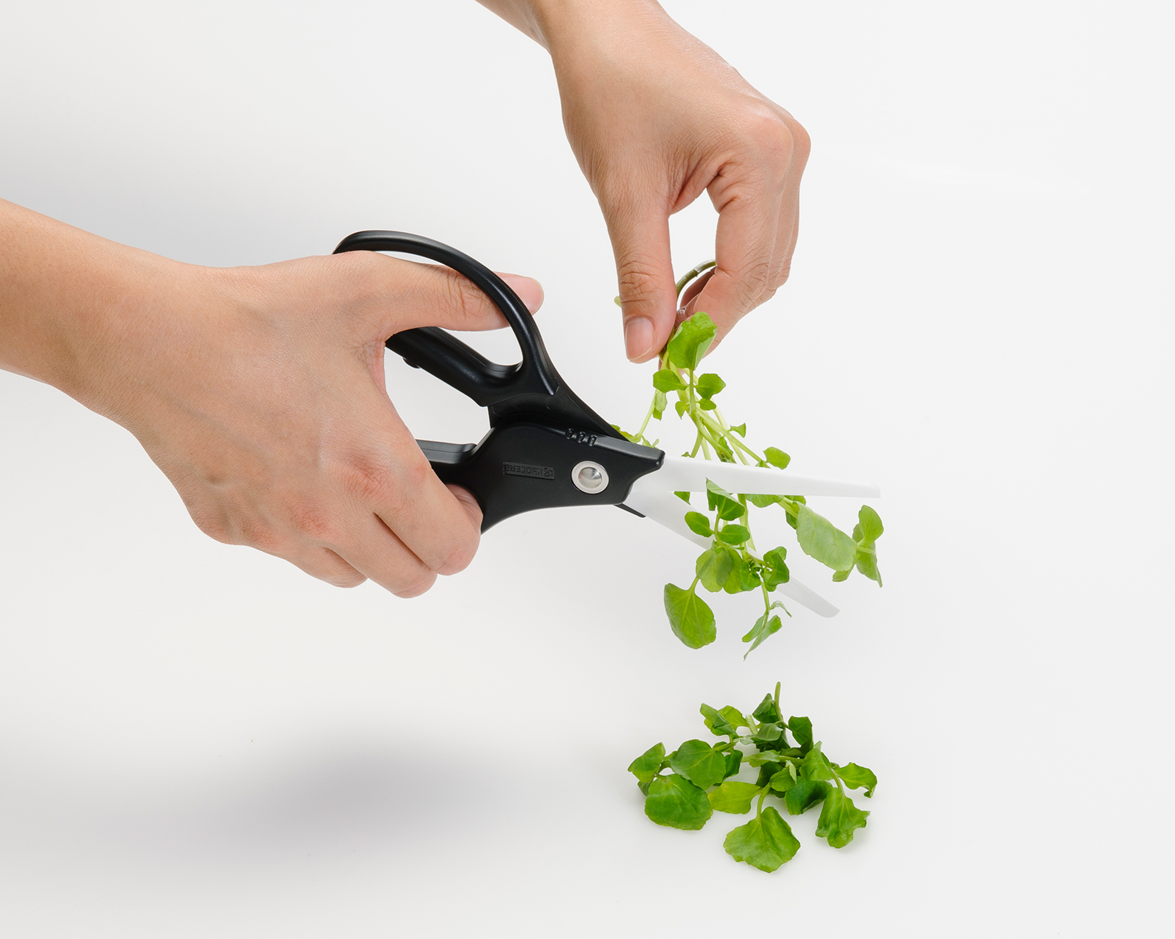 ... The Kyocera Ceramic Kitchen Scissors Offer Long Lasting Sharpness And  Accuracy In The Kitchen. The Ceramic Blade Never Rusts And Doesnu0027t Transfer  Metals ...