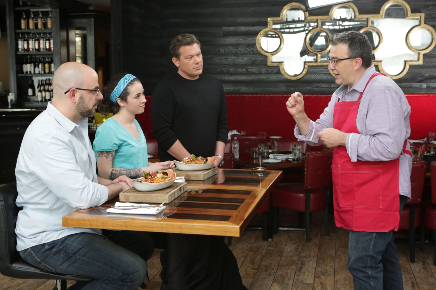 Tyler Florence Hosts Bite Club Food Networks New Culinary Competition