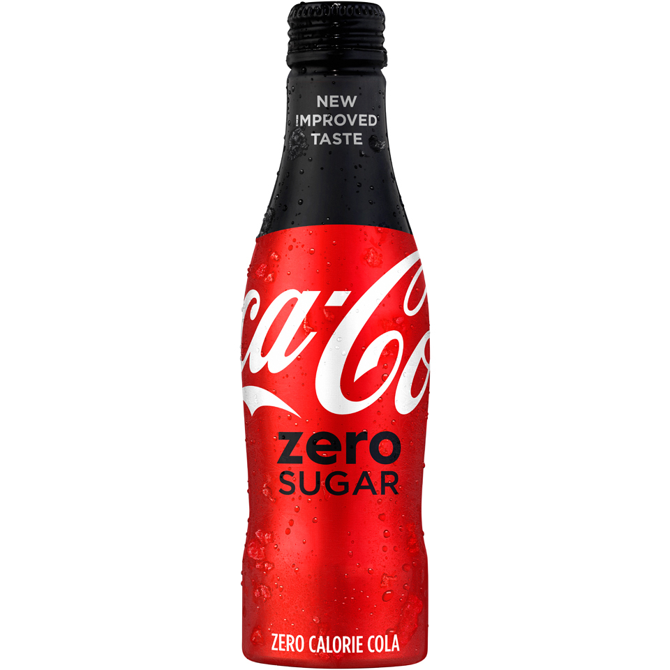 new coke zero coca cola zero sugar features new flavor and packaging. Black Bedroom Furniture Sets. Home Design Ideas