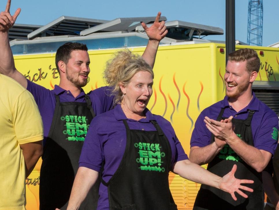 Stick Em Up Food Truck Race
