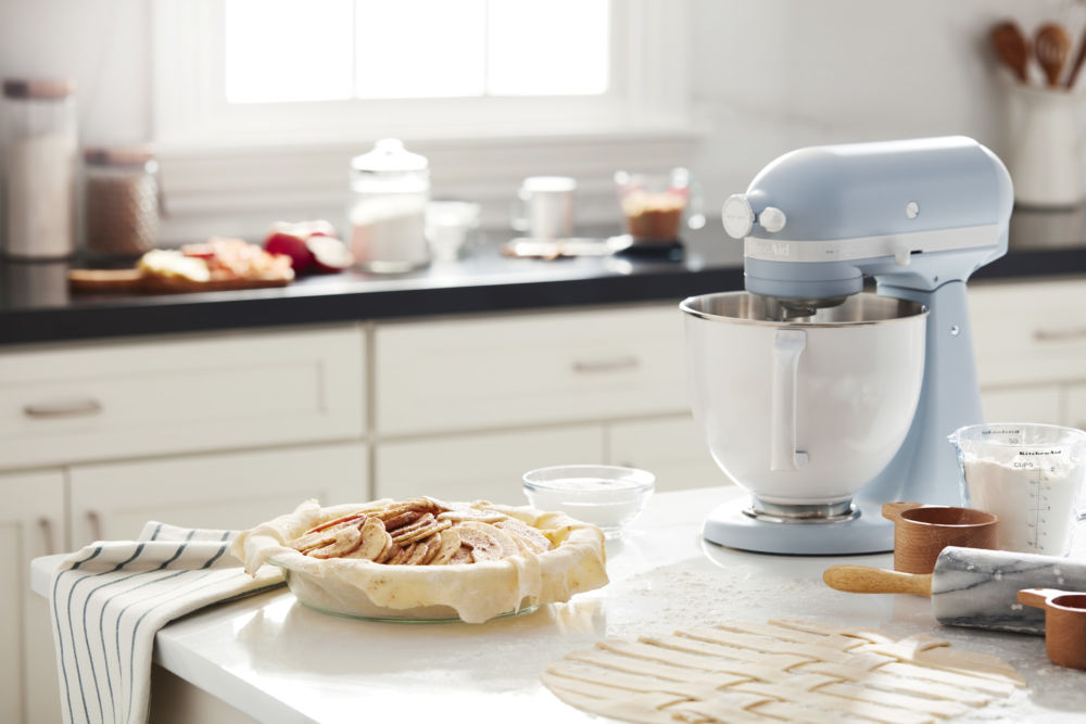 Kitchenaid Launches Heritage Inspired Misty Blue Color For